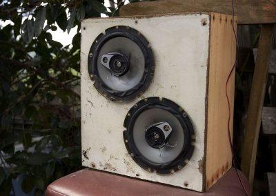 Equipo de sonido de alta tecnología.